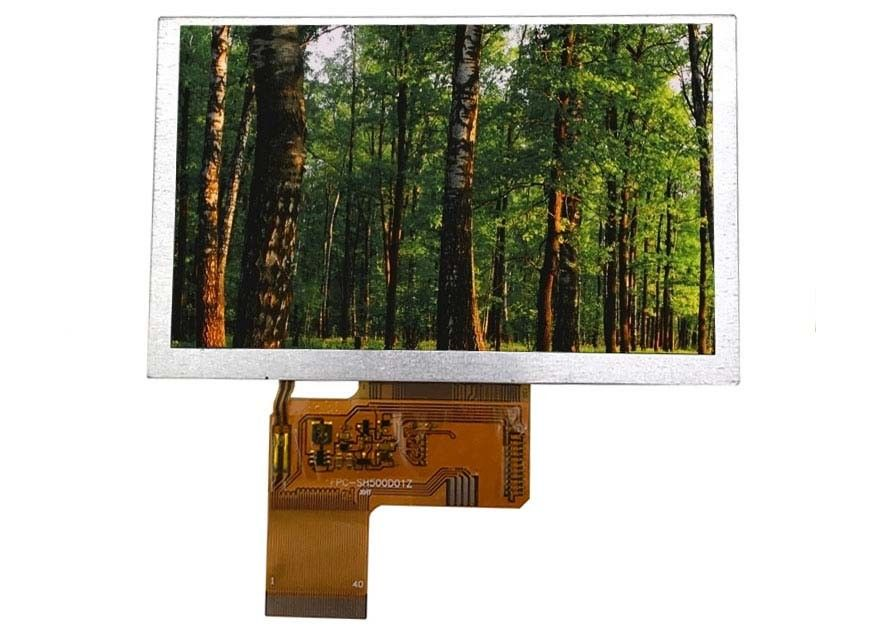 800 * 480 TFT Colour Lcd Display Module 5 . 0 Inch Without TP , Lcd Display Screen