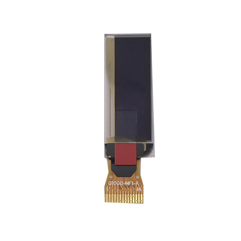 Thin 0 . 91 Inch PMOLED Monochrome Oled Display SSD1306 Driver IC