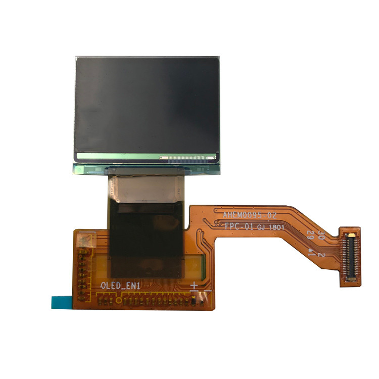 Full Color Wearable AMOLED Display 16.7M Color Oled Screen With 4 Wire SPI I2C