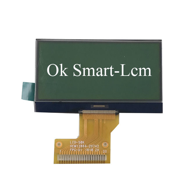 Lightweight Black And White Monochrome LCD Display 12864 Customizable
